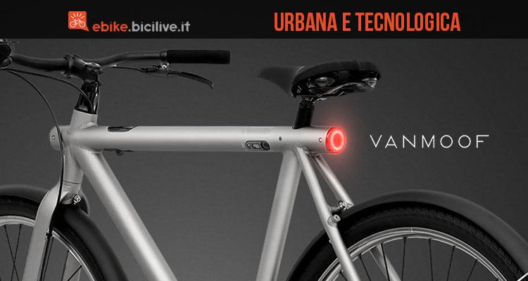 Bici elettrica VanMoof Electrified S