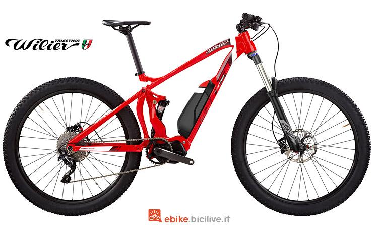 moutain bike elettrica Wilier e803TRB Comp con gruppo Shimano SLX