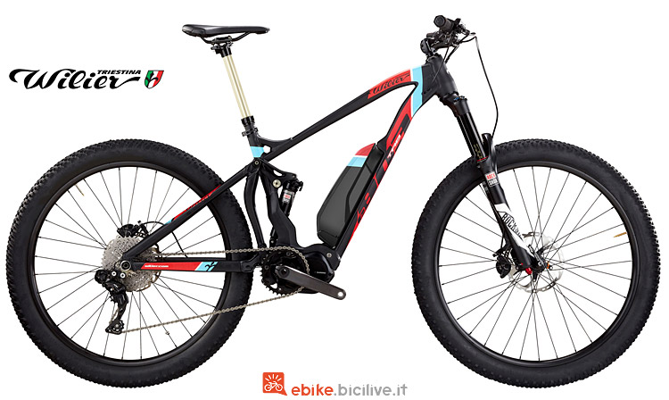 Emtb Wilier e803TRB Pro full suspended con motore Shimano Steps