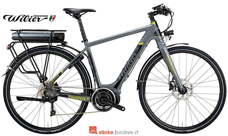 Bicicletta elettica da trekking Wilier Magneto dal listino 2017