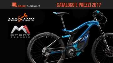 Bicielettriche M1 Sport Technik: catalogo e listino prezzi 2017