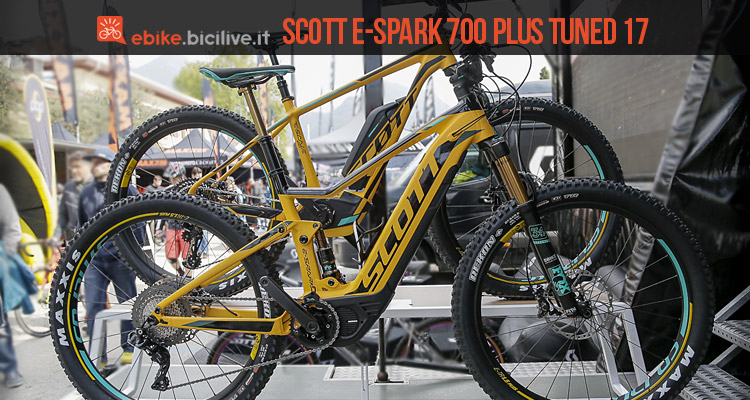 emtb scott e-sparl 700 plus tuned 2017