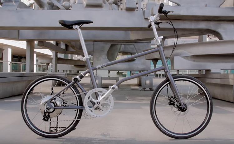 bici elettrica pieghevole vello bike