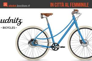 Budnitz bella E, city bike elettrica