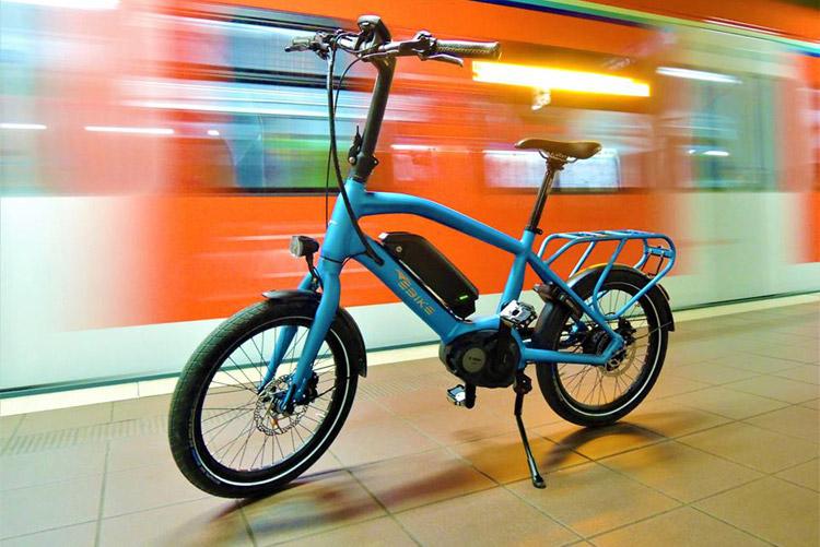 bici elettrica pieghevole ebike das original