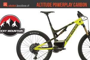 Una eMTB Rocky Mountain Altitude Powerplay Carbon 90