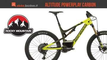 Una eMTB Rocky Mountain Altitude Powerplay Carbon 90
