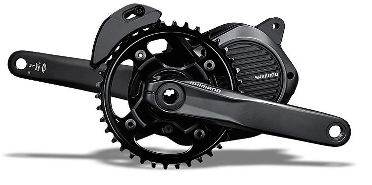guarnitura shimano steps e800