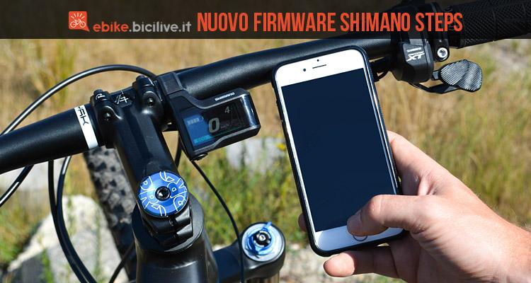 connessione tra shimano steps e smartphone