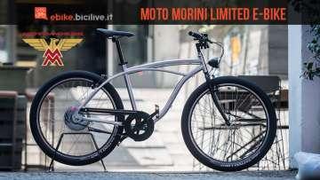 moto morini limited e-bike