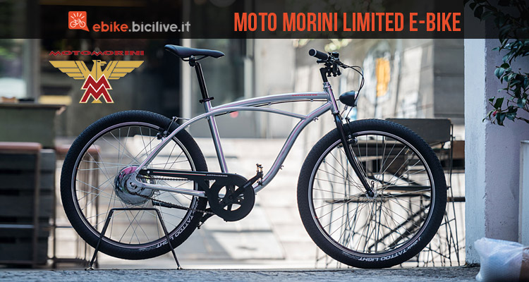 moto morini limited e-bike