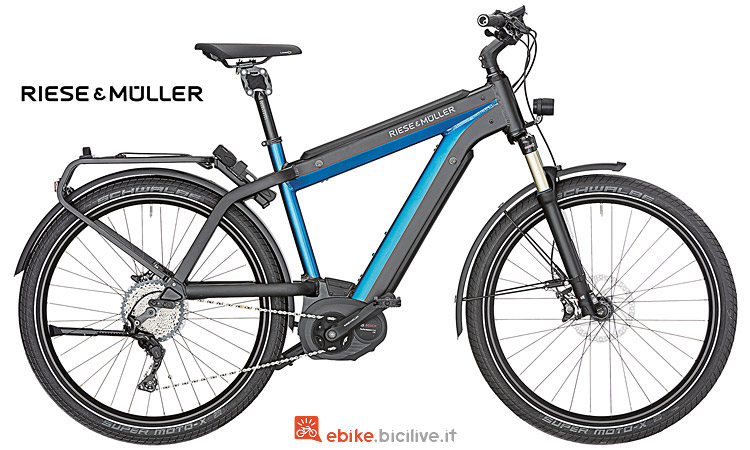 Riese & Müller supercharger con dual battery integrata