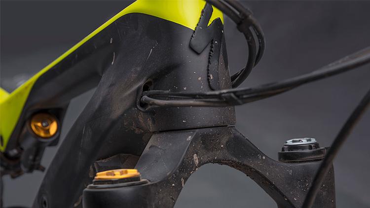 telaio in carbonio della specialized turbo levo