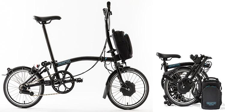Brompton Bici Pieghevole.Brompton Electric Bici Elettrica Pieghevole Inglese