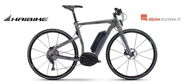 Haibike Xduro Urban 4.0 con motore Bosch Performance CX