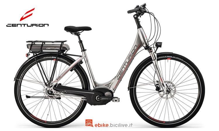 Una bici elettrica Centurion E-Co 408 del 2017