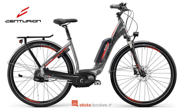 Una bici Centurion a pedalata assistita E-Co Style 500 anno 2017