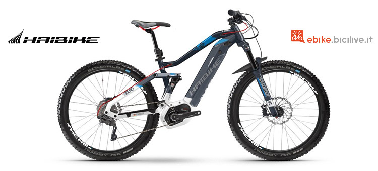 Haibike FullLife LT 7.0 con motore Bosch CX Performance