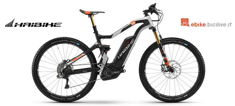 Haibike Xduro FullSeven Carbon 10.0 con telaio in carbonio:
