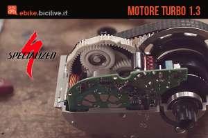 Il motore elettrico centrale Specialized Turbo 1.3 2018