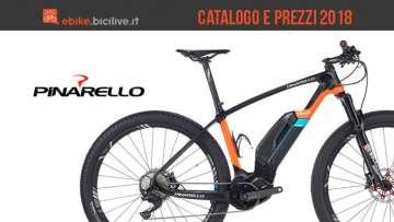 Pinarello eMTB: catalogo e listino prezzi 2018