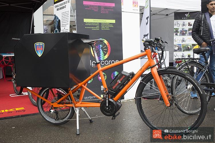 Alpacargo Elettrica con motore Bikee Bike