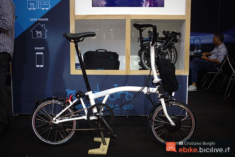 brompton electric a eurobike 2017