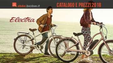 ciclisti con ebike eletra dal catalogo 2018