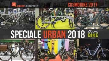 selezione di ebike urban a cosmobike