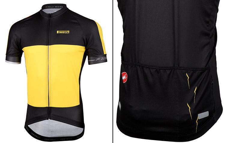 maglia da ciclismo pirelli castelli marathon