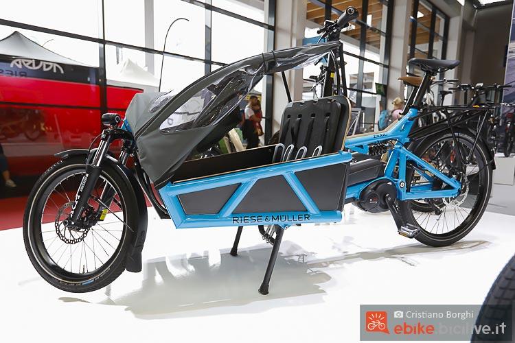 Riese&Müller Load per trasporto bambini