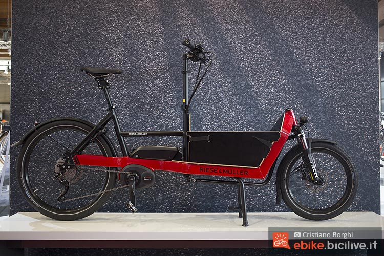 eurobike speciale cargo bike elettriche 2018. Black Bedroom Furniture Sets. Home Design Ideas