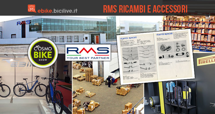 rms ricambi bici con magazzino sede e stand