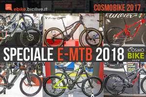 CosmoBike Show: le nuove eMTB italiane 2018