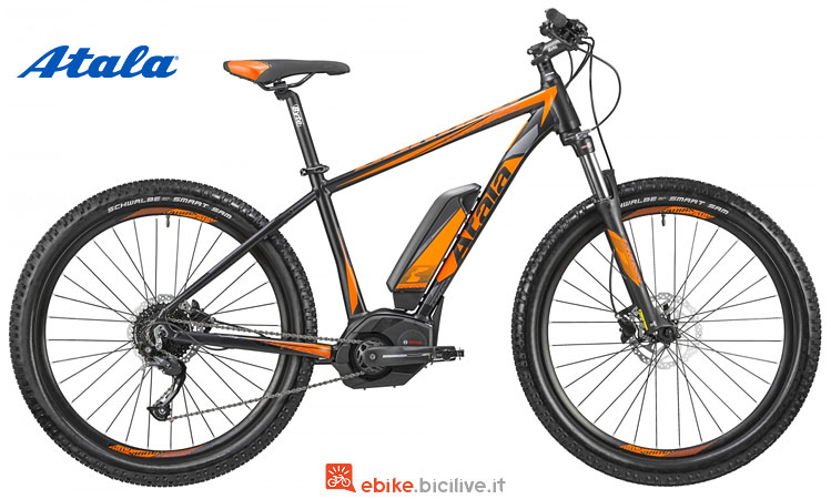atala b-cross cx 2018 con batteria bosch