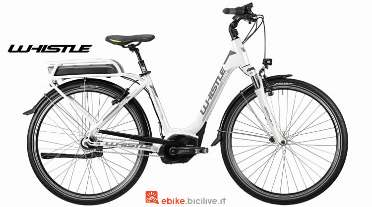 city bike elettrica whistle b-you 2018
