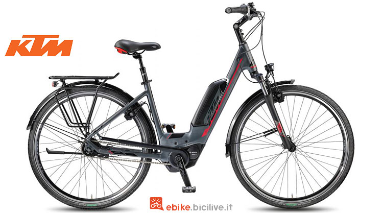 Bicicletta elettrica da città KTM Macina City