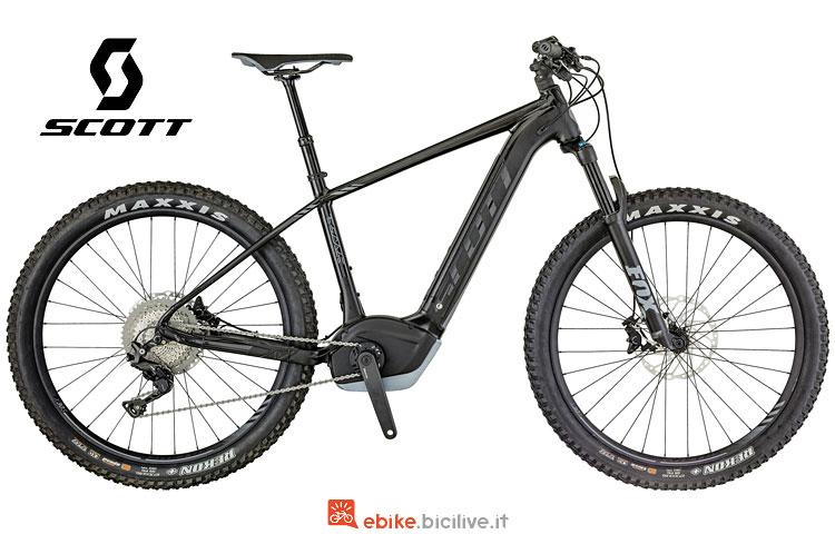 mountain bike elettrica hardtail scott e-scale 710