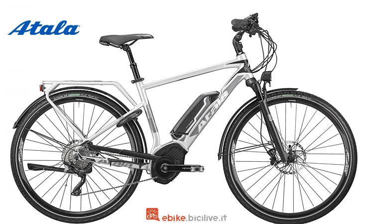 bici a pedalata assistita da trekking atala b-tour xls man