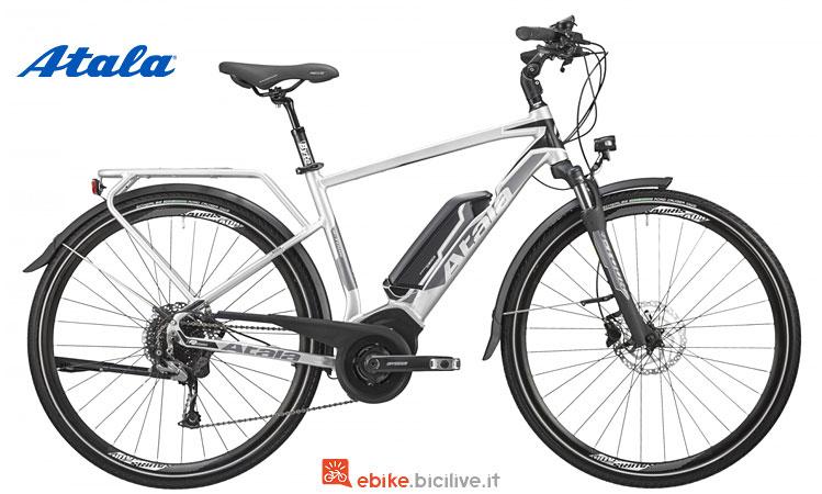 bicicletta elettrica da cicloturismo atala 2018