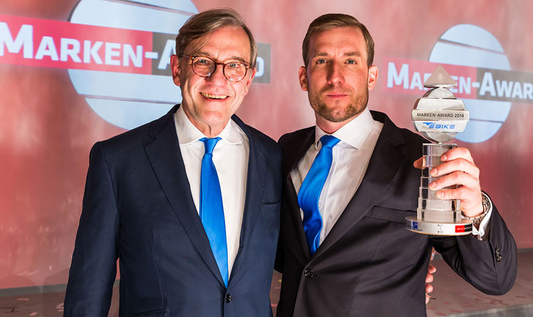 ebike das original con il premio marken award