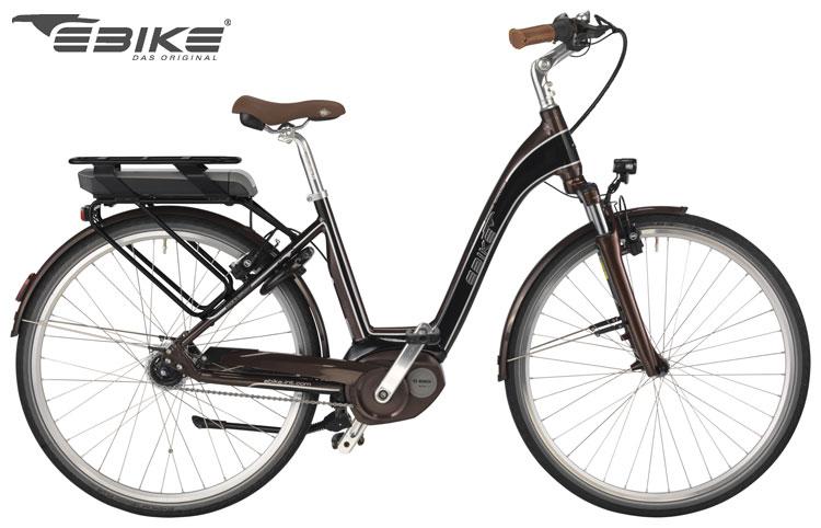 La bici elettrica Borbon Street 2017