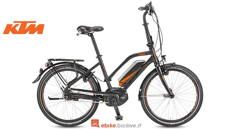 bici elettrica pieghevole ktm macina compact
