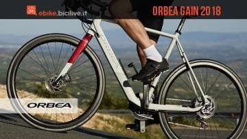 orbea gain 2018 ebike road gravel o urban