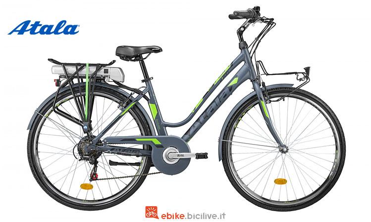 """bici da città elettrica da 28"""" atala e-run"""