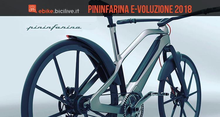 Pininfarina E Voluzione Ebike Sportiva E Hi Tech