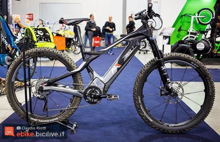 foto della M1 Sport Technik Zell cc ebike front in carbonio