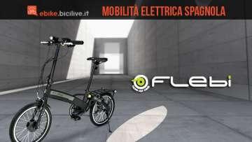 Flebi: bici pieghevoli a pedalata assistita dalla Spagna