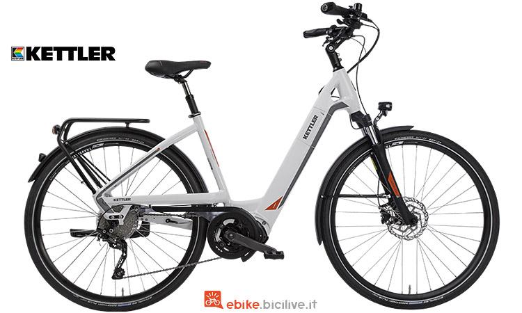 bicicetta elettrica da città uomo o donna kettler 2018