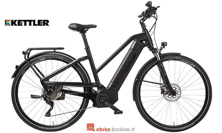 traveller e light comp kettler city bike